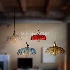 retro glass lamp shades aliexpress com lampshade pendant lights vintage 9