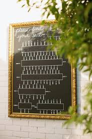 Wedding Seating Charts Bravobride
