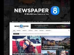 Wordpress Template Newspaper Newspaper 8 The Best Premium News Wordpress Theme By Tagdiv