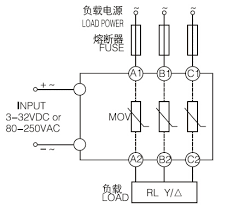 480v ac control 3 phase ssr dc to ac three phase solid state terminal connection diagram 480v ac control 3 phase ssr dc to ac three phase solid state relay