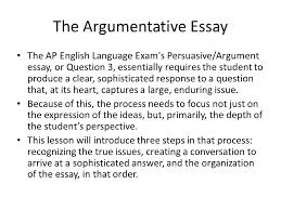 argumentative essay havlicek s classroom picture
