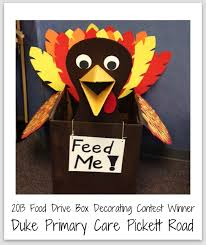 Food Drive Box Decorations sign ideas for food drive Food Drive Box Decorating Contest 100 2