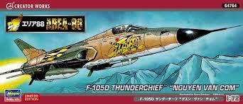 Hasegawa 64764 - 1/72 Area88 F-105D Thunderchief Nguyen Van Chom
