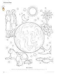 creation coloring sheet creation coloring pages free printable creation coloring pages and