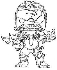 Disegno Da Colorare Funko Pop Marvel Venom Hulk 7