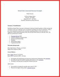Retail Sales Resume Retail Sales Resume Sample Wwwfungramco 80