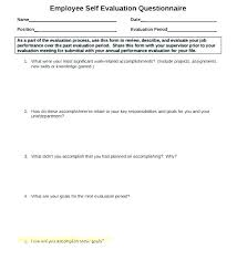 Job Performance Evaluation Form Templates Enchanting Skill Evaluation Template Russd
