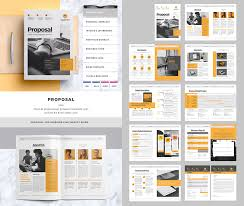 Website Proposal Template Adorable 48 Best Business Proposal Templates For New Client Projects