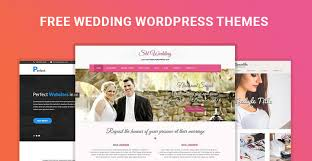 Wedding Wordpress Theme Free Wedding Wordpress Themes For Engagement Matrimonial Websites