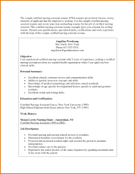 Resume For Cna Examples Cna Resume Examples Modern Bio Resumes Cna Resume Examples Best 11