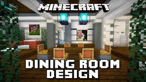 modern mansion dining room. Minecraft Tutorial: How To Make Dining Room Furniture (Modern House Build Ep. 19) - YouTube Modern Mansion M
