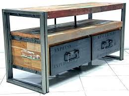 rustic look furniture. Industrial Look Furniture Style Storage Rustic O