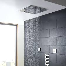 rain shower head ceiling fancy ceiling rain shower head on table and chair inspiration with ceiling rain shower head
