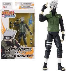 Amazon.com: Bandai 36903 Anime Heroes-Naruto 15cm Hatake Kakashi-Action  Figures: Toys & Games