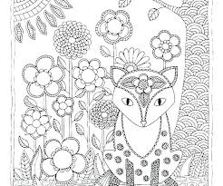 Coloring Pages Forest Animals Coloring Woodland Animals Coloring Pages Forest Fox Page Forest
