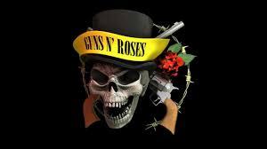 3D Maya Guns N' Roses logo rotation ...