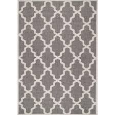 nuloom gina moroccan trellis grey 6 ft x 9 ft outdoor area rug