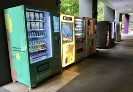 Boxgreen Vending Machine Mesmerizing Singapore's First Healthy Vending Machine