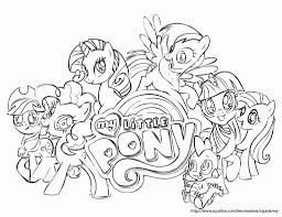 Coloring Pages My Little Pony Friendship Is Magic High Quality
