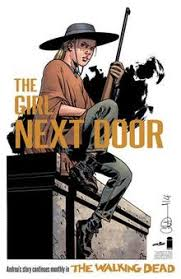 a promotional image of andrea in a new beginning set two years after the war with negan art by charlie adlard