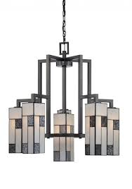 modern art glass chandelier