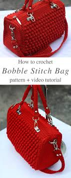 Crochet Handbags Free Patterns
