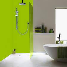 3 panel coloured shower kit