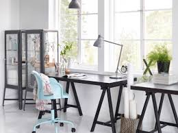 ikea office furniture catalog. check out this studio with tornliden desk in black and fabrikr glass cabinet that keep your brushes protected visible ikea office furniture catalog