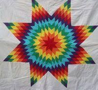 64 best Star Quilts images on Pinterest | Lone star quilt, Star ... & Diane's Native American Star Quilts Adamdwight.com