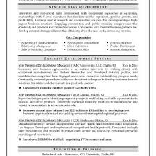 Resume Sample For Business Development Manager Archives ...