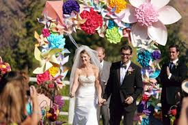 Paper Flower Archway Inspiration Paper Flower Arches Ultrapom Wedding And