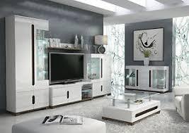 tv lounge furniture. Image Is Loading Lorenz-High-Gloss-White-Sideboard-TV-Unit-Tall- Tv Lounge Furniture