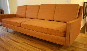 orange sofa of mcm orange vintage mid century modern sofa picked vintage of mcm orange burnt orange furniture