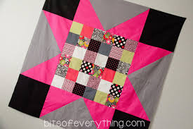 Big Block Quilt Pattern | Bits of Everything & Easy-Quilt. Check out all these other great ideas for blankets! Adamdwight.com