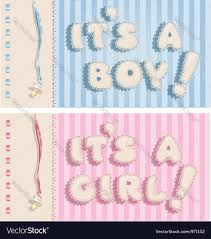 Its A Boy And Its A Girl Banners