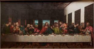 leonardo da vinci made a secret copy of the last supper jpg