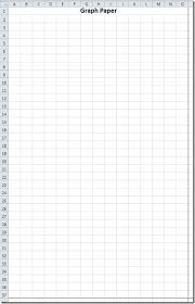 Turn Excel Into Graph Paper Convert Excel Worksheet Into Graph Paper