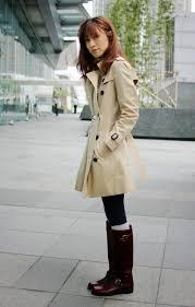 the sadringham short coat left the kensington mid length middle the westminster long coat right