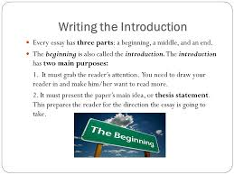 research paper introduction ppt video online  writing the introduction