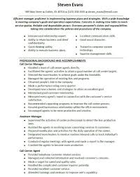 Sample Resume For Customer Service Agent   Free Resume Example And     toubiafrance com