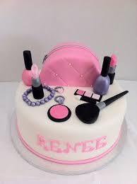 36964708 Sweet Makeup Cake For An 8 Year Old Girl