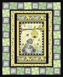 Free Downloadable Quilt Patterns & Honey Bee Mine Quilt Pattern by Henry Glass Fabrics.