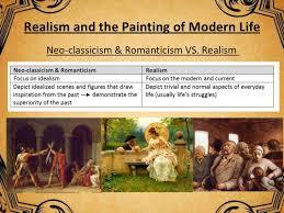 realism r ticism impressionism art his presentation lois pa 50