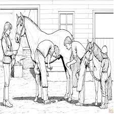 Disegno Di Cavallo A Dondolo A Colori Per Bambini Avec Giostra Con