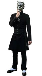nameless ghoul coat. alpha cut out nameless ghoul coat o