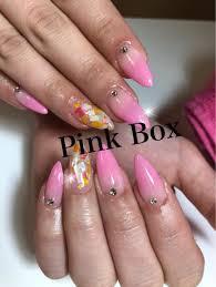 夏なカラーグラデーションネイル 函館 Home Salon Nail Pink Box 自宅