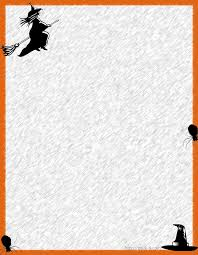 free halloween stationery templates halloween stationary with lines scary halloween pumpkin