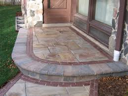 cedarburg fieldstone porch and walkway increase curb appeal home value fieldstone flagstone patios e19 flagstone