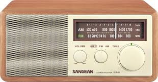 Kitchen Stereo Under Cabinet Amazoncom Sangean Wr 11 Wood Cabinet Am Fm Table Top Analog