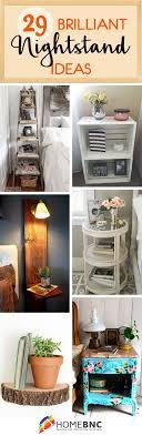 Image Pinterest Nightstand Decor Ideas Homebnc 29 Best Nightstand Ideas And Designs For 2019